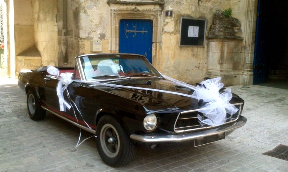 Rétro Balades Location Ford Mustang île d'Oléron